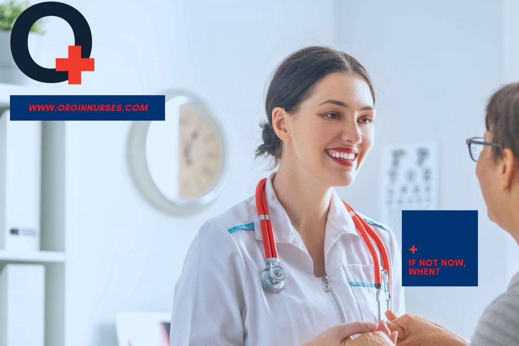 If not now when | A nurse is smiling | originnurses.com